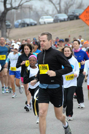 'Too Cold to Hold' 5-mile or 10-mile run around White Rock Lake