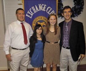 Youth of the Month award recipients