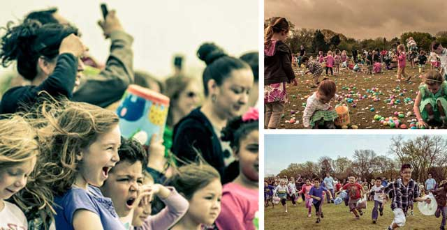 Easter egg hunt at LH North Park