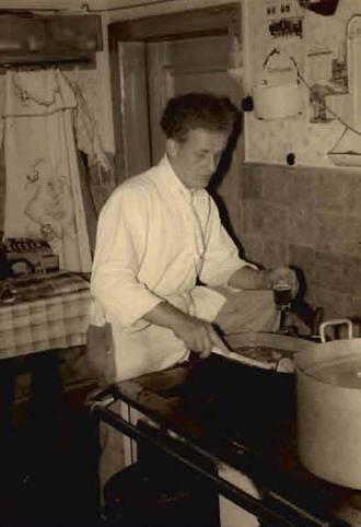 As a young man, Father Josef worked as a chef.