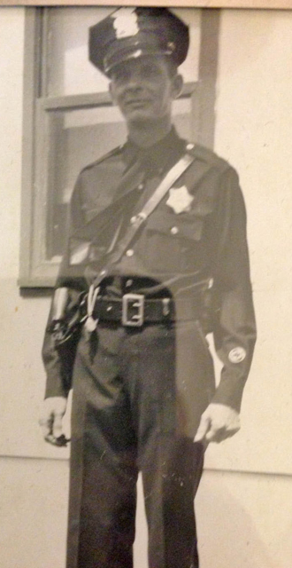 Tip Tippit as a Dallas police officer