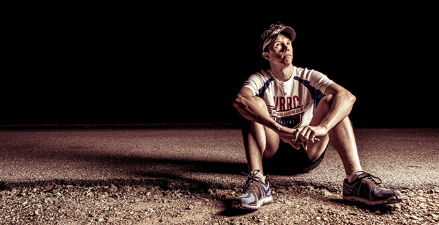 An almost-recovered Brandon Cumby ponders his upcoming 26.2-mile race: Danny Fulgencio