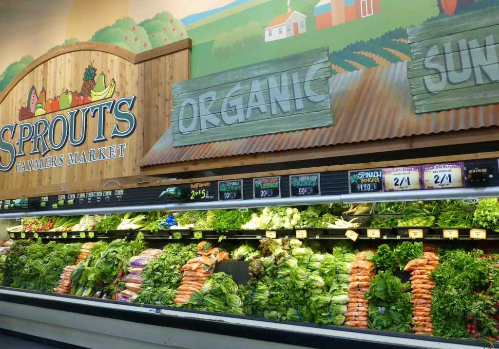 Sprouts organic foods