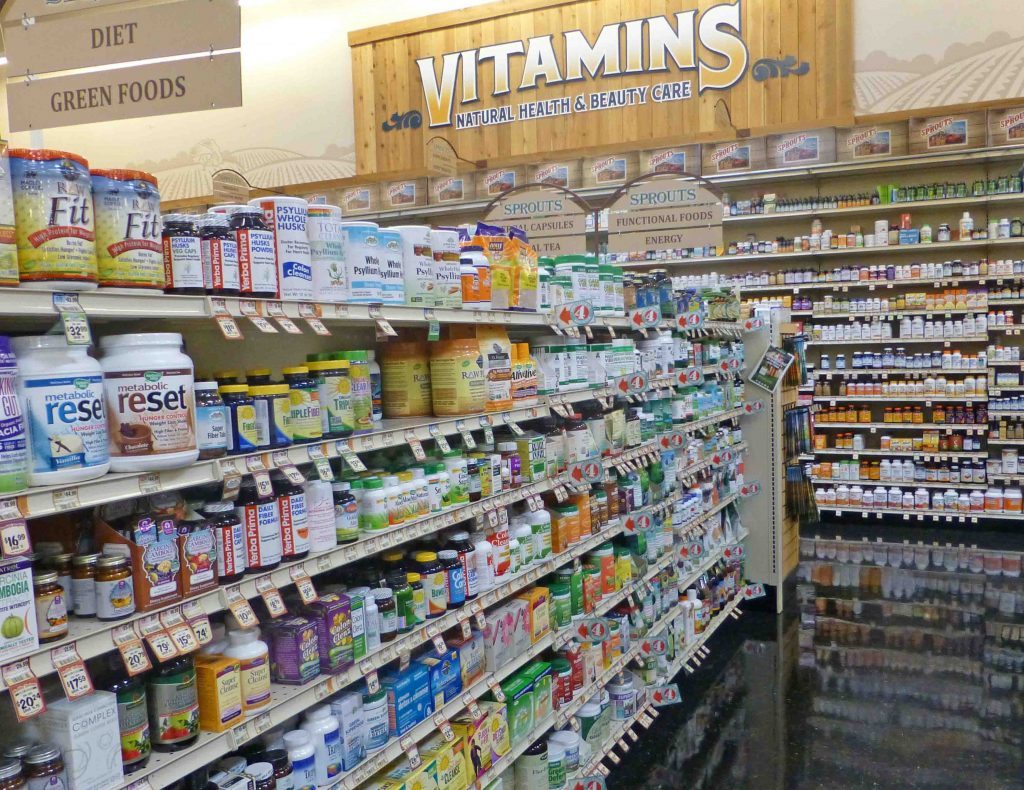 Sprouts vitamins and health foods