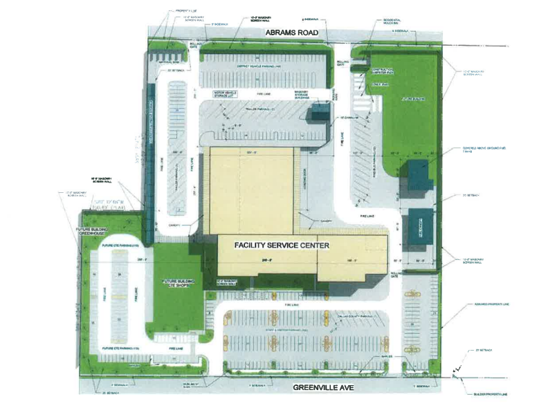Proposed operations facility