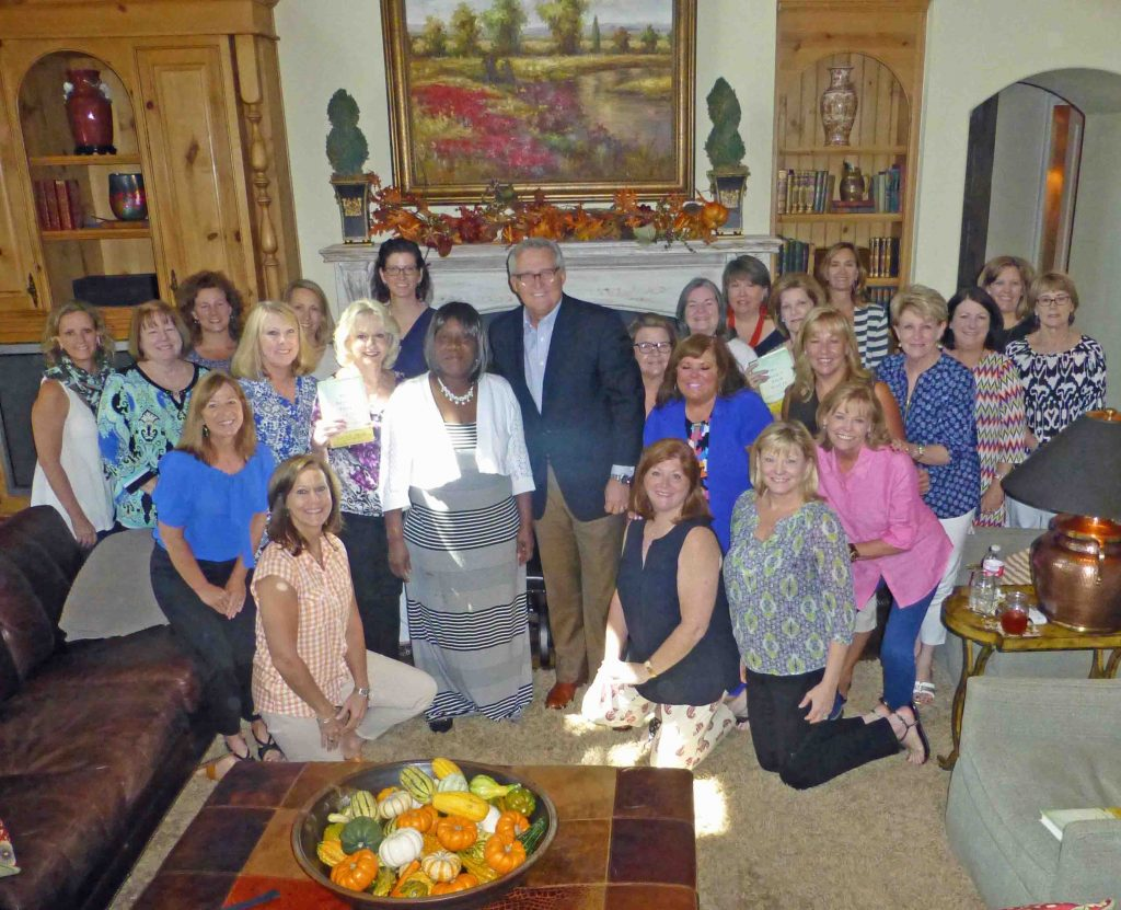 Louise Troh, George Mason and the Lake Highlands Women's League Book Club