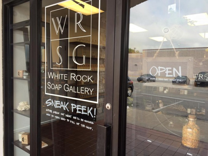White Rock Soap Gallery (from Facebook)