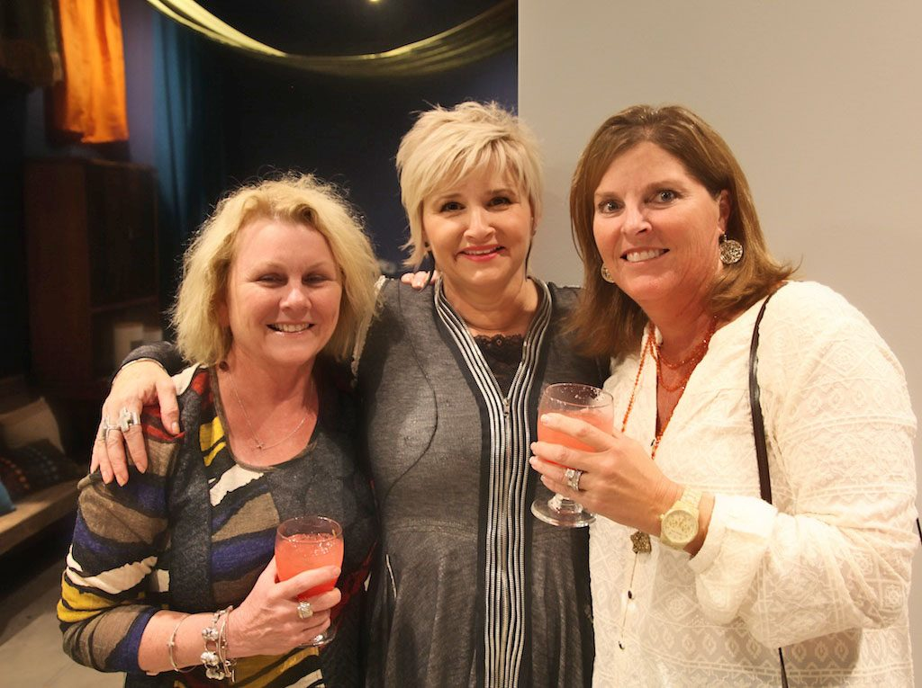 Terri Hoover with clients Sharon Rush and Renee Badger