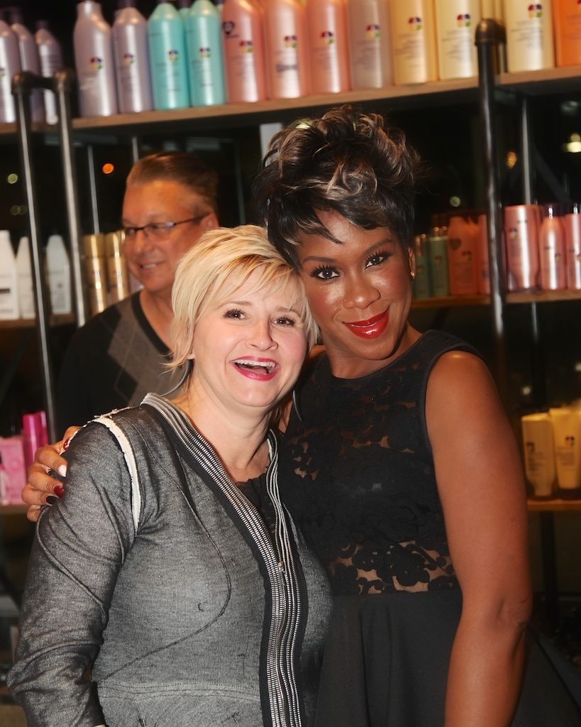 Terri Hoover with business partner Rebecca Crosby