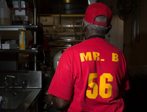 #FBF: It took a global pandemic to stop Highland Park Cafeteria cook Mr. B