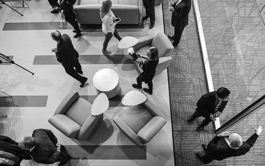 "The new center features a ""warm and inviting wi-fi equipped lobby with modern, comfortable furniture,"" staffers say."