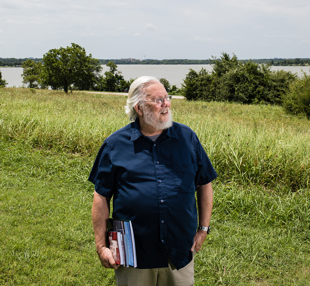 Steven Butler has been hanging out at White Rock Lake for as long as he can remember. (Photo by Rasy Ran)