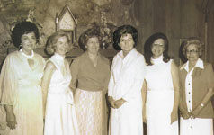 The charter members of the Lake Highlands Women's League. (Photo courtesy of the league)