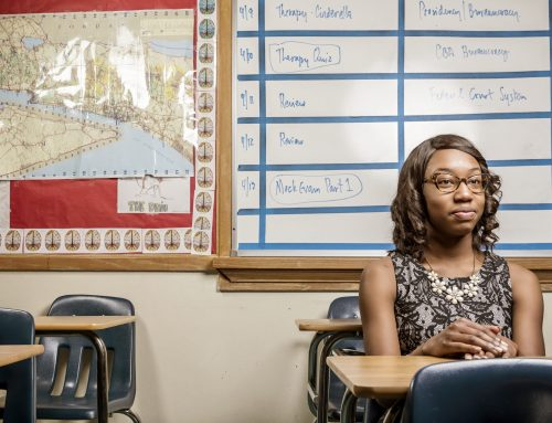 'The Imani effect': How one student inspires her teachers