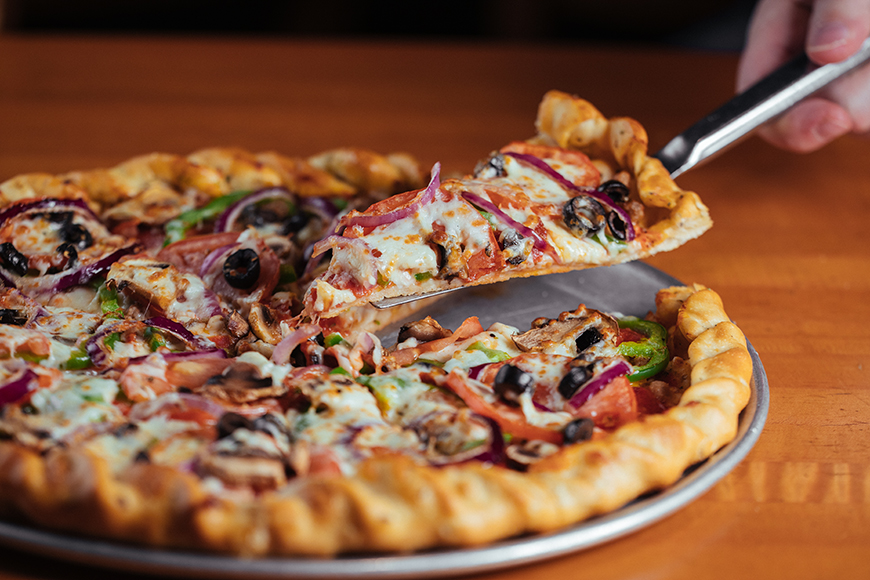 Eat Here Now Picassos Pizzas Comeback Story Lake Highlands