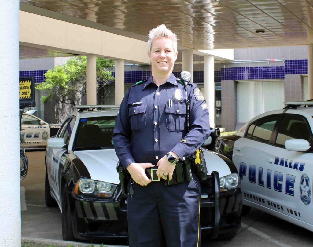 Dallas Police Officer Returns to Work After Recovering From Coronavirus