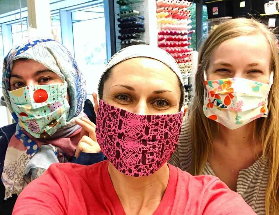 Purchase masks, support refugee women at Vickery Trading Company - Lake  Highlands