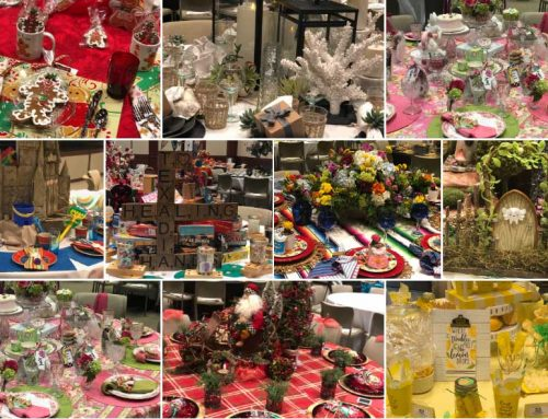 Road to recovery: Healing Hands Tablescapes shifts to 'art gallery style'