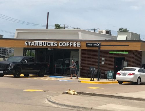 Check out the new brew-tiful renovations to the Starbucks on Northwest Highway