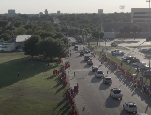 If you missed the LHHS senior graduation parade, watch this video