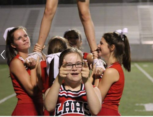 You won't bellew-ve the story behind this LHHS cheerleader