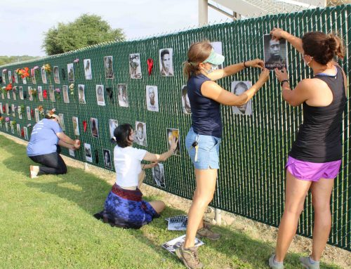 'Say Their Names': Moms Against Racism create memorial display
