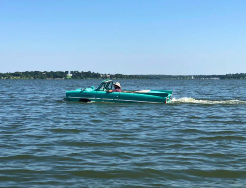 LOOK: White Rock Lake is the perfect place for cars that can swim