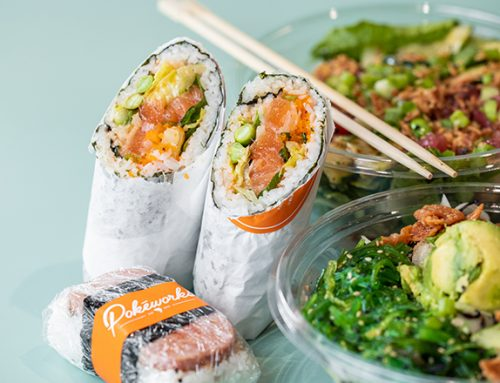 Try a sushi burrito at Hawaiian-inspired restaurant Pokéworks