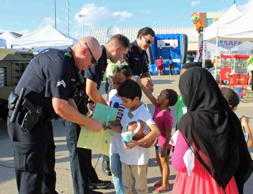 DPD hosts National Night Out at Flag Pole Hill