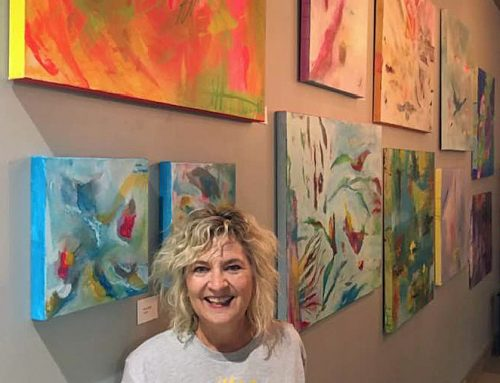 Suzanne Dale's art featured at Artistik Edge