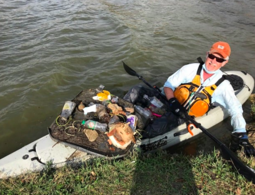Padillacs: Volunteer rowers pick up trash at White Rock Lake