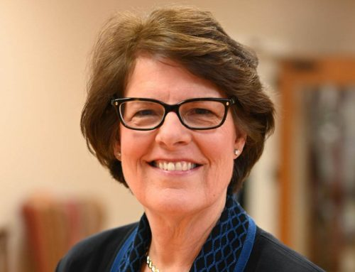 Kim Caston to retire after 14 years as RISD trustee