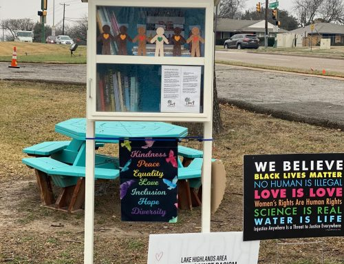Bethany Lutheran Church is home to a new Little Free Library featuring diverse books
