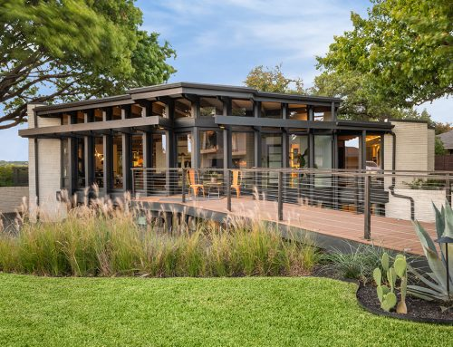 LOOK: This mid-century modern gem in Lake Highlands offers hilltop views of White Rock Lake