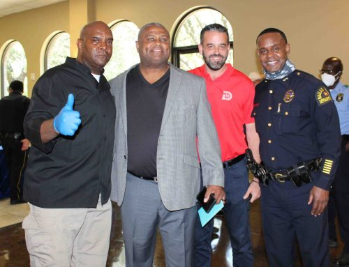 34 years of service: DPD's Mitch Gatson retires