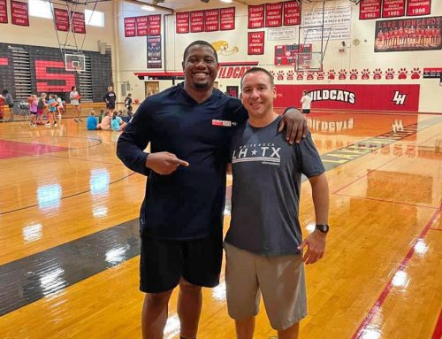 NFL's Nick Thurman works out with Wildcat athletes