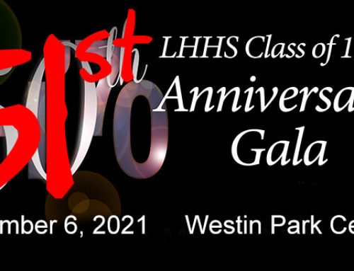 4th time's the charm: Here's the details for LHHS Class of 1970's rescheduled reunion