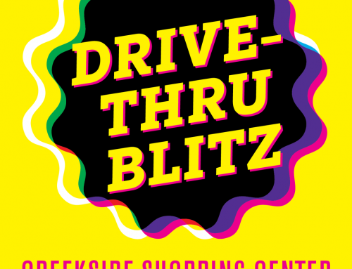 Drive Thru Blitz first of its kind at Creekside Shopping Center this weekend