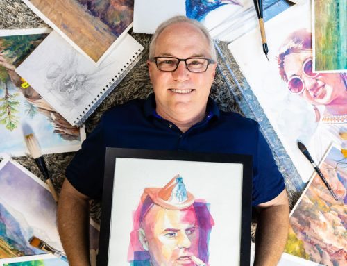 Artist and neighbor Scott Bodell finds creativity in his community