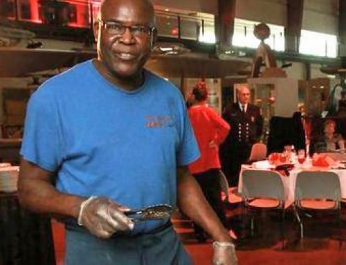 Retirement party for Back Country BBQ pitmaster Earnest Griffith