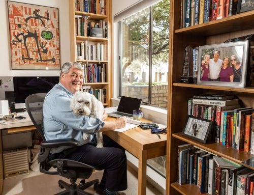 Journalist Scott McCartney copes with loss through books and libraries