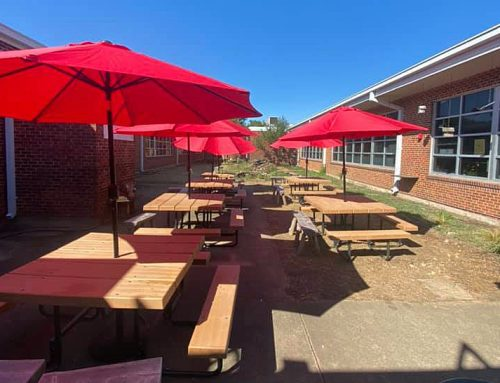 RISD students are dining outdoors to fight COVID and boost well-being