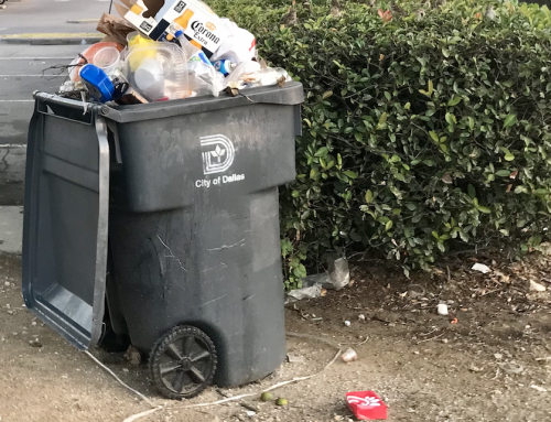 Dallas' trash pick up situation stinks, but they're working on it