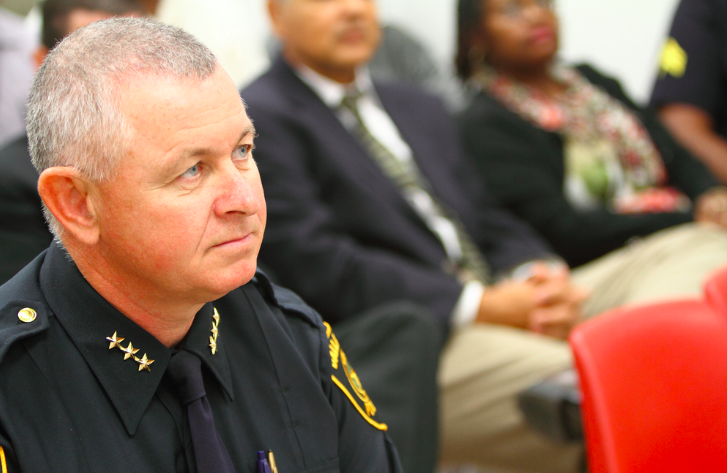 Dallas ISD police chief Craig Miller. (Photo from DISD)